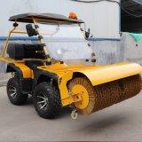 捷克驾驶式扫雪车 汽油动力除雪车 四轮扫雪可定制