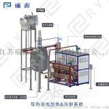 新疆地區直供導熱油加熱器 反應釜壓機專用電加熱油爐