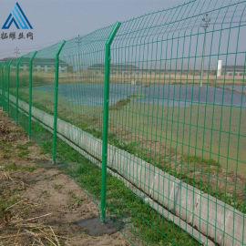 圈地围墙护栏/金属防护栅栏
