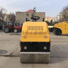 2吨座驾式压路机双钢轮压路机全液压驱动