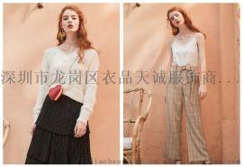 深圳一线品牌女装百图春夏专柜尾货折扣货源哪里有