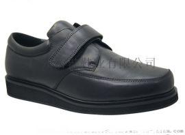 廣州休閒皮鞋,特寬外貿鞋,真皮舒適功能商務鞋