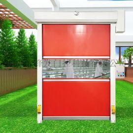 龙门不锈钢自动平移门车库感应快速卷帘门