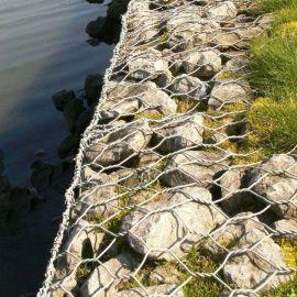 富海源头厂家直销生态边坡治理石笼网 镀锌钢丝耐腐蚀