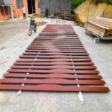月亮灣工程弧形鋁方通 金沙灣改造工程鋁方通造型定製