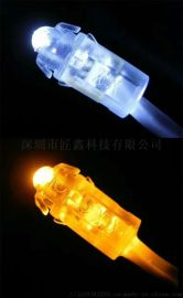 LED穿孔灯9MM 发光字多色外露灯串