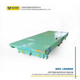 转运钢管建筑材料搬运轨道平板车 轨道电动平板车