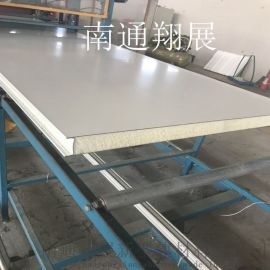 950型聚氨酯夹芯板 复合保温板 PU发泡夹芯板