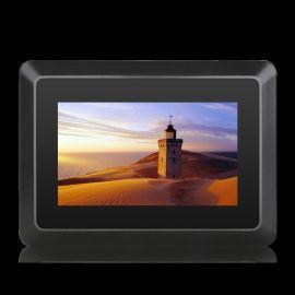 7寸工控显示器嵌入壁挂式触摸PLC人机界面监视器