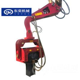 推荐振动锤打桩机 拉伸钢板液压打桩机