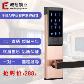 APP密码锁手机蓝牙远程密码锁公寓智能刷卡锁