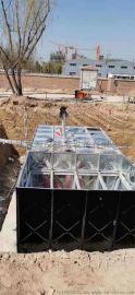 抗浮式箱泵一体化消防地埋增压给水设备