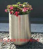 鏡面不鏽鋼大花盆 304不鏽鋼花盆 花器來圖定製