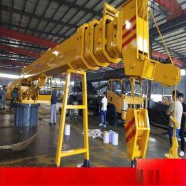 多功能液压船吊可定制固定式船用起重机港口码头吊机