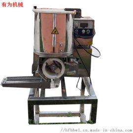 肉饼成型机 有为100型肉饼上浆裹糠流水线厂家直销