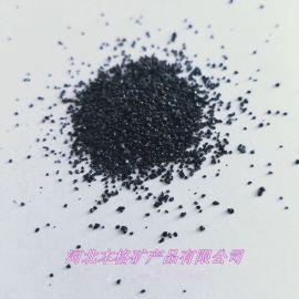 厂家供应耐磨地坪骨料金刚砂 喷砂用黑沙 黑色石英砂