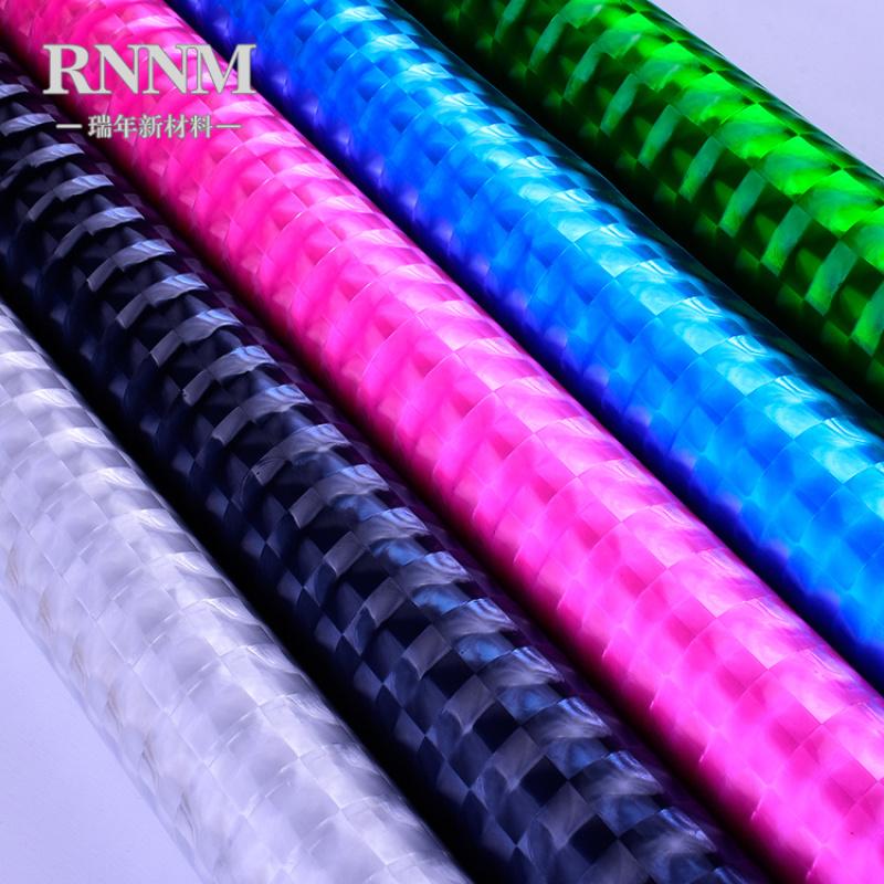 RNNM瑞年厂家 3D反光膜 透明猫眼膜 立体膜