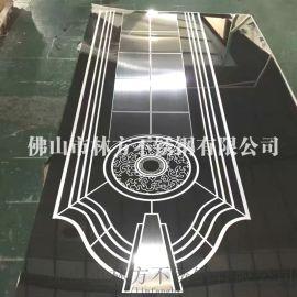 厂家直销不锈钢蚀刻板板 304红古铜不锈钢电梯门板