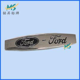厂家现货直销福特汽车大包围真皮脚垫金属标牌铭牌