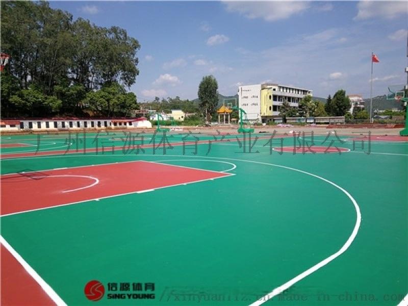 海南东方五指山丙烯酸篮球场地面施工厂家