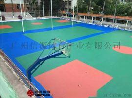 云南昆明硅PU篮球场建设,硅PU篮球场材料厂家