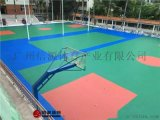 雲南昆明矽PU籃球場建設,矽PU籃球場材料廠家