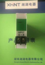 湘湖牌HC-63E-4三相功率表数码管显示接线图