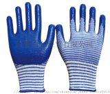 13針U3丁腈斑馬紋手套 園藝手套 耐油手套