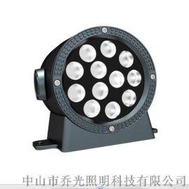 LED单向壁灯户外防水12W/24W单头发光壁灯