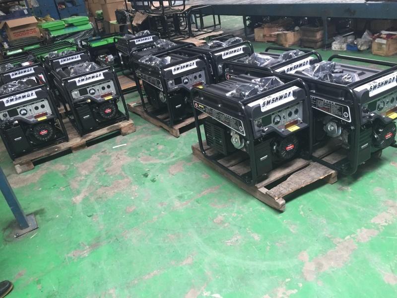 6kw汽油發電機  站可用移動電源