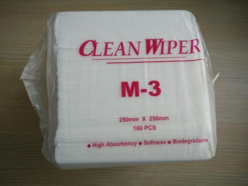 M-3無塵紙 優質工業吸油擦拭紙 無塵擦拭紙