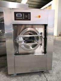 工业洗衣机XGQ-15电脑控制悬浮避震全自动洗脱机