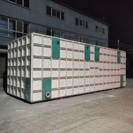 储存水用铁皮水箱拼接式不锈钢水箱