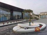 售樓部示範區不鏽鋼種植池、不鏽鋼景觀樹池安裝效果圖