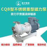 CQB重型不鏽鋼磁力泵大功率高揚程大流量