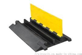 线槽减速带橡胶PVC电缆保护槽压线板室内户外