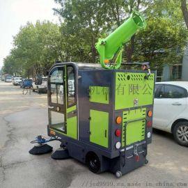全封闭式电动扫地机 小区道路清扫车
