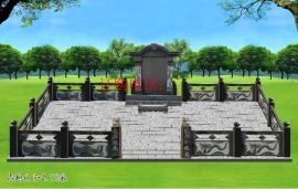 龙凤墓碑 石雕墓碑定做花岗岩中国黑墓碑农村土葬墓碑