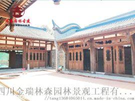 成都仿古門窗廠,寺廟中式格子門窗定制加工