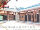 成都仿古門窗廠,寺廟中式格子門窗定製加工