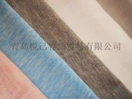 海藻纤维抗菌针织面料32s色纺可降解吸湿排汗面料