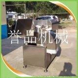 牛肉鸡脯肉切丁机高产量-大型全自动牛肉颗粒切丁机