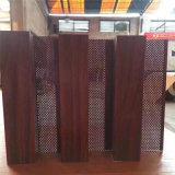 酒店隔斷木紋長城板 沃爾瑪商場鋁合金凹凸板