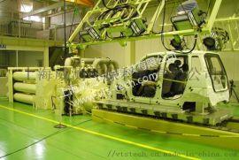 日本三菱MHI汽车碰撞模拟系统 加速台车