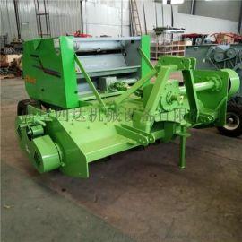 玉米秸秆粉碎回收打捆机,秸秆切碎回收式打捆机