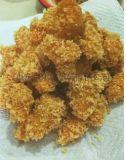 鸡米花挂面糊机 鸡米花裹粉机生产线 鸡米花油炸机