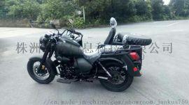 厂家直销君侉250边三轮摩托车  黑色