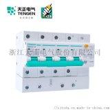 天正电气 空气开关 TGB1NLE-125 4P C 63A-100A 30mA-300mA微型漏电保护断路器