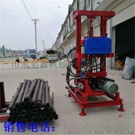 打井机电动柴油 小型家用100米深水井全自动钻机