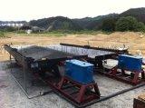 江西120槽铜米摇床 钨锡选矿摇床 玻璃钢摇床厂家